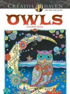 Creative Haven Owls Coloring Book - Sarnat Marjorie | Public βιβλία