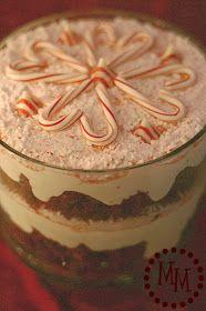 The Scrap Shoppe: Candy Cane Trifle {Homemade Christmas Recipes}