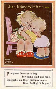 Mabel Lucie Attwell card - 1947
