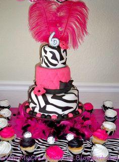 Zebra Diva Birthday Party Ideas