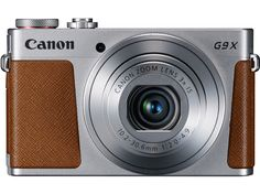 CANON PowerShot G9 X Digitalkamera Silber, 20.2 Megapixel, 3x opt. Zoom, TFT-LCD, WLAN