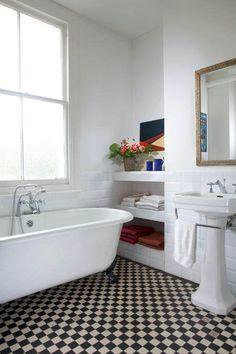 Bathroom on pinterest roll top bath tubs and bath for Roll top bathroom ideas