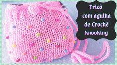 The Creator, Crochet Hats, Youtube, Making Purses, Confetti, Handmade Bags, Stitches, Tutorials, Tricot