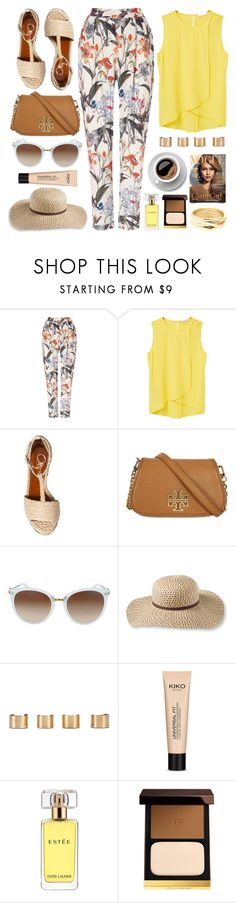 """""""Outfit Of The Day"""" by monmondefou ❤ liked on Polyvore featuring Phase Eight, MANGO, Charlotte Olympia, Tory Burch, L.L.Bean, Maison Margiela, Estée Lauder, Tom Ford, Repossi and yellow"""