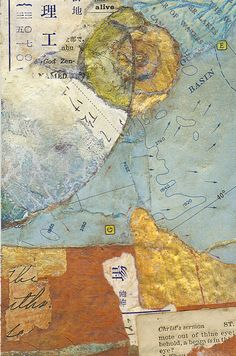 Map II by Sharmon Davidson