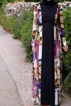 Kami Dress - cotton maxi dress so hijab friendly. Modest, islamic wear hijab store www.annahariri.com
