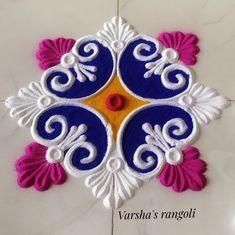 Rangoli Designs Simple Diwali, Simple Rangoli Border Designs, Rangoli Designs Flower, Free Hand Rangoli Design, Rangoli Patterns, Small Rangoli Design, Rangoli Ideas, Colorful Rangoli Designs, Rangoli Designs Images