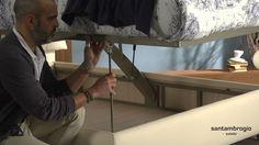 """Letto contenitore modello """"Paola"""", maggiori info al seguente link: http://www.lettisantambrogio.it/letti_contenitore/letto_contenitore_paola-76.html . Questo letto contenitore lo produciamo sia con meccanismo tradizionale che con meccanismo per rifacimento facilitato che vi permette di rifare il letto rimanendo in piedi. Contattaci per maggiori informazioni"""