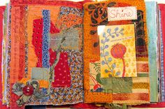 Ro Bruhn Art: Another completed journal