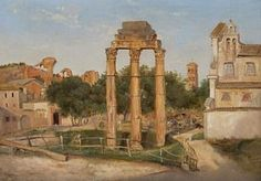 Thomas Fearnley (1802-1842): Forum Romanum, 1833