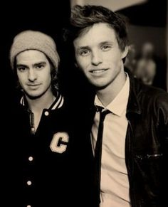 Eddie Redmayne & Andrew Garfield. I just died.