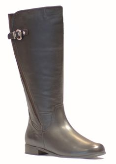 Rose Petals Taylor Super Plus Wide Calf� Boot (Brown)