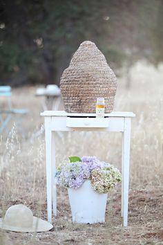 Vintage French Beehive