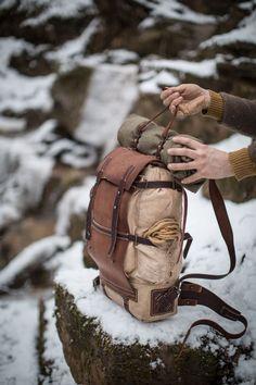 075/2018 backpack #bushcraftleathergear