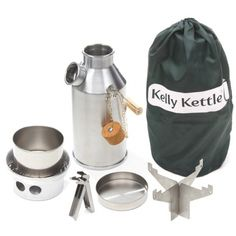 Kelly Kettle® essential Camping equipment for the Outdoors. For Scouts, Fishing, Picnics, Disaster Kits, etc. Camping Survival, Emergency Preparedness, Survival Gear, Kelly Kettle, Disaster Kits, Camping Cot, Gifts For Campers, Gifts For Hunters, Dere