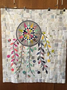 just to catch you up..... on what I have been working on this week! My Dream Catcher top is finished!   And this one, from Rose's leftovers, with a few of mine added....  Now to think about quilting