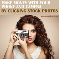 Make money from anywhere doing what you love doing anyway, clicking pictures with your phone and camera. Learn how to make a home based income with stock photography.