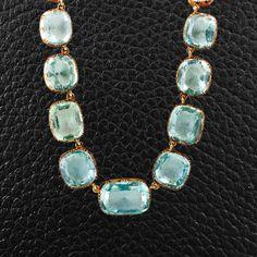 Antique Aquamarine Necklace – CRAIGER DRAKE DESIGNS®