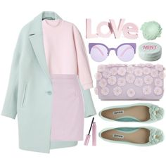 Head to toe pastel- would you give this look a try? #OOTD http://polyv.re/PnMOUD