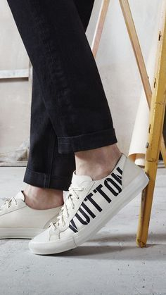 7cb65dbf6e8e Louis Vuitton Tattoo Sneakers from the Men s Fall Winter 2017 Collection by  Kim Jones Steven Meisel