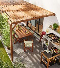 Pergola et tonnelle pour le jardin ou la terrasse : notre sélection tendance - Holger Habighorst - Pergola Designs, Patio Design