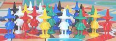 DDR-Spielzeug | SPIKA-Würfelspiel-Spielfiguren | http://www.puppenhausmuseum.de/ddr-spielzeug-13.html