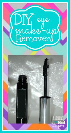 DIY Eye Makeup Remover  *Get more FRUGAL Articles, tips and tricks from Raining Hot Coupons here* *Pin it* by clicking the PIN button on the image above! DIY Eye Makeup Remover  Eye makeup removers on the market today can get expensive and for some once they have bought them they don't live up to there [...]