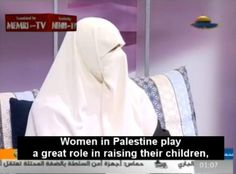 #auspol Wife of Hamas Politician Says Woman's Role Is to Instill Love of Jihad and Martyrdom in Her ChildrenWomen in Palestine play a great role in raising their children and in encouraging them to wage Jihad for the sake of Allah.