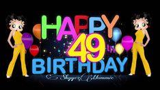 Betty Boop Happy 49th Birthday, Happy 49th Birthday Betty Boop Birthday, Happy, Ser Feliz, Being Happy