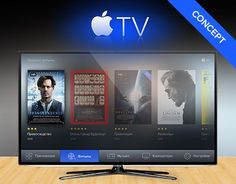 Apple TV redesign Dashboard Ui, Digital Tv, Apple Tv, Contents, Tech, Display, Design, Products, Floor Space