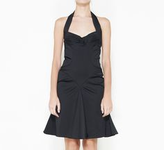 Zac Posen Black Dress