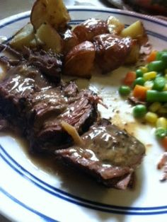 Crock pot London Broil! So incredibly simple and yummy.
