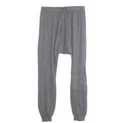 Clu Harem Jersey Pants in Heather Grey | Les Pommettes