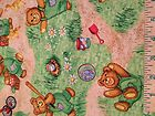 "New: BTY ""Corduroy"" Timeless Treasures-Playful Bears Sewing Quilting Fabric - #bears, #quilting, Corduroy, fabric, Sewing, Timeless, TreasuresPlayful"