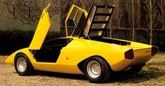 An italian masterpiece - Lamborghini Countach - Prototipo 1971 - Designer Marcello Gandini per la Carrozzeria Bertone