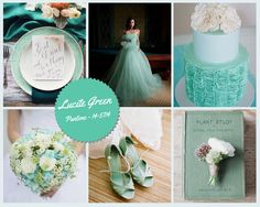 mint green vs lucite - Google Search