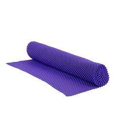 home basics Bright Purple Grip Shelf Liner | zulily  . $5.99 $8.00 Product Description:  Protecting your shelves and drawers, this handy liner lends its bright color to your kitchen décor. Plus, its grip-texture helps hold dishes securely in place.      18'' W x 60'' H     Rubber     Imported