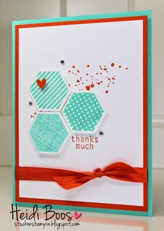 Stuck on Stampin': SSINK Color Combo - Six Sided Sampler