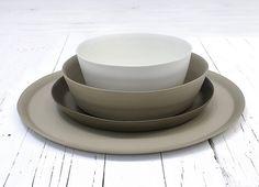 Rina Menardi ceramics.  www.providehome.com #ModernThanksgiving