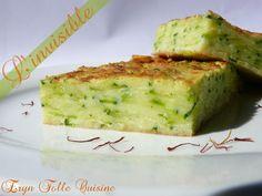 Gâteau Invisible Courgettes, Safran & Parmesan - Eryn et sa folle cuisine
