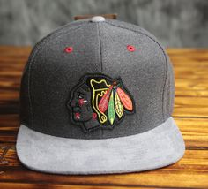 Contrast color visor, button and eyelets Raised front embroidery M&N back embroidery Plastic snap closure Officially licensed x Mitchell & Ness Vintage Baseball Caps, Dope Hats, New Era Fitted, New Era Hats, Fitted Caps, Snap Backs, Chicago Blackhawks, Snapback Hats, Hats For Men