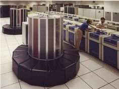 A second Cray-1 with 2 million words of memory is installed at the NMFECC (now NERSC)
