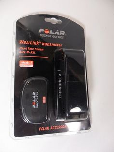 NEW Polar WearLink + Transmitter M-XXL Compatible w/ Nike+ Sealed in package! #Polar