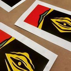 Serigrafía Manual 4 colores arches 21 x 30 cm #silkscreen #serigrafía #screenprint #tabacalera #lavapies
