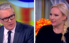 Keith Olbermann: 'Trump is Worse than Bin Laden.' Meghan McCain DESTROYS HIM (Video)