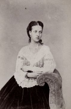 carolathhabsburg: Princess Alexandra of Wales in lace. Early...
