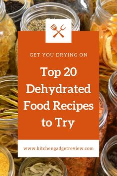 Top 20 Food Dehydrator Recipes to try out today! Save money by making delicious snacks with in season meats, veggies and fruits. Real Food Recipes, Great Recipes, Healthy Recipes, Food Tips, A Food, Good Food, Awesome Food, Food Prep, Health Eating