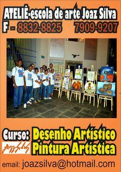 Artista Pernambucano : Curso de Arte, vagas limitadas