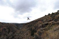 Happy Halloween! Witch in training. Witch Zip Lining! Zip Adventures of Vail #ziplining