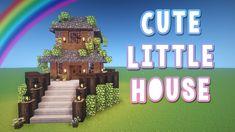 Cute Little House ♡ Minecraft Tutorial YouTube Minecraft tutorial Minecraft house tutorials Minecraft blueprints